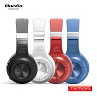 Wholesale New Version Headphones - New Arrival Bluedio HT(shooting Brake) Wireless Bluetooth Headphones BT 4.1 Version Stereo Bluetooth Headset built-in Mic for calls earphone