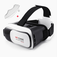 "Wholesale Video Glasses Games - VR Box 3D Virtual Reality Headset 3D Video Movie Game Glasses for 4.7""-6"" IOS Android Smartphones iPhone 6 6 Plus Samsung Galaxy S6 Edge"