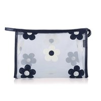 sacs à motifs achat en gros de-Sac à cosmétiques pour femmes New Fashion Grid pattern make up bags pour dames sacs de beauté