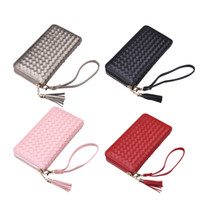 Wholesale Buy Card Holder Wallets - Brand NewHigh Quality Brand New Lady Wallets Clutch Bags Pu Faux Zipper Long Purse Bag Cards Holders Buy One Get One Free Women Handbags