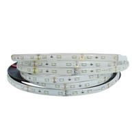 éclairage à bande led bon marché achat en gros de-Bon marché SMD3014 5m 300LEDs LED Bandes led flexibles étanches 12V / 24V, Lumière flexible super lumineuse 5m / lot de LED