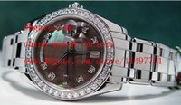Wholesale Mother Pearl Watches - Luxury High Quality Sapphire Glass Mechanical Watch Diamond 39mm Platinum Mother Of Pearl MASTERPIECE Model 18946 Automatic Mens Watches