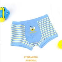 Wholesale Cartoon Boxers Shorts Wholesale - Cartoon Kids Underwear Cotton Children underwear Boxer Baby briefs Cute Panties Kids Clothing Underpants Boys Pants shorts 6081