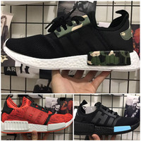 Wholesale Apple Canvas - 2017 Hot Sale NMD R1 NYC RED APPLE Mens Running Shoes Fashion Running Sneakers for Men and Women mastermind japan MMJ Eur 36-44