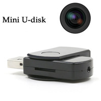 32GB Mini U Disk DV Cámara flash USB portátil 1280 x 960 U-Disk Video Recorder Cámaras Cámara DVR oculta con grabación de audio