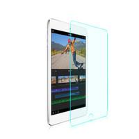ipad clear schirmabdeckungen großhandel-Klares verstärktes ausgeglichenes Glas für iPad Pro 12.9 Schirm-Schutz-harter Abdeckungs für Apple iPad Pro Premium ultra dünner Film-Kasten