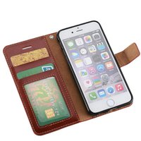 """Wholesale Iphone Chain Wallet - 6 Colors Flip PU Leather Stand Case for iPhone 6 6S Plus 5.5"""" 4.7"""" Cover Shell Wallet With Card Lanyard Chain Holder Free DHL MOQ:100pcs"""