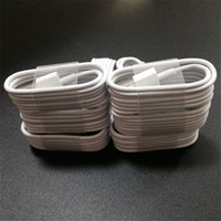 Wholesale Flip Usb - 1M Micro USB Cables 3FT Charging Data Sync Cords white round data wire for iphone 5 5c 6 plus