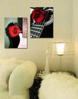 Impressão giclée Canvas Wall Art Rose Flowers Contemporary Floral Decor Home Decor Set20085