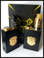 Wholesale Underground Box - TOP Underground Box Mod Kit Mech Mod Gold Black Colors Fit 18650 Battery 510 Thread Fit 510 RDA Atomizer Mechanical Mod IN STOCK