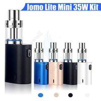 Wholesale 35w box mod for sale - Group buy Original Jomo Lite w Mini starter Kit mAh Battery box Mod USB Chargeable Kit Jomo BGO w Mini vapor mod Portable kits DHL