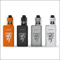 Kit originale Smok Cavaliere Con Koopor Mini 2 80W TC Box Mod 2ml del casco del carro armato Aggiornamento firmware