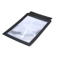 Wholesale Magnifier Sheets Large - 2015 High Quality A4 Full Page Giant Large Assisted reading Magnifying Glass Sheet 3X Magnifier