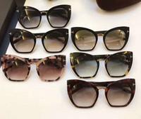 Wholesale Sunglasses Spot - Women 553 Samantha Spotted Havana Sunglasses Grey Gradient cat eye Brand sunglasses unisex New with Box