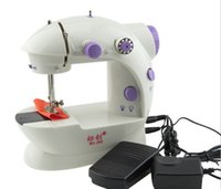 Wholesale Utility Pictures - Authentic household mini sewing machine fair, hot sewing machine, 202 electric sewing machine, upgraded edition with band light cutter, free