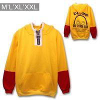 Wholesale Punch Xl - Wholesale-One Punch Man Oppai Hoodies cartoon Hoodie Saitama cosplay clothing Men Women Costume Sweatshirts Mens anime clothes