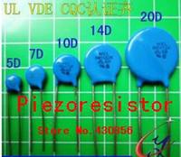 New 100pcs 7D180K Varistor Resistor 18V UL