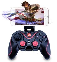 Gamma di Bluetooth T3 per il pad telefono Android Smart Joystick PC Box Joypad Wireless Controller di Gioco con supporto mobile dhl