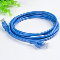 Wholesale cat5 rj 45 - Wholesale- 2M 78.7in Ethernet Cable Blue CAT5 CAT5E RJ45 Network Ethernet Patch Cord Lan Cable RJ-45 Computer Accessories
