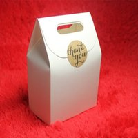 Wholesale Packing Bag Free Present - Hot-selling 50pcs lot White Kraft Paper Bags Pouches Bag For Gift Present Packing Bag Packaging for Food Snack Bread Free shipping