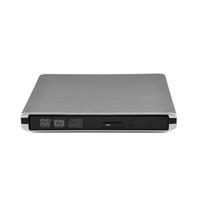 ince harici dvd sürücüsü toptan satış-Freeshipping USB3.0 DVD RW İnce 5.0 Gbps CD / DVD-RW Yazıcı Harici DVD Burner Sürücü 50-60Hz Tüm ABS Stokta var!