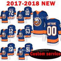Compra Anthony New York-Personalizzato 2018 New York Islanders 72 Anthony Beauvillier 10 Alan Quine Jersey 12 Josh Bailey 53 Casey Cizikas 27 Anders Lee Hockey Maglie