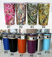Wholesale Stainless Steel Auto Mug - Stainless Steel Tumbler Water Cups Vacuum Cup Thermos Water Cups Two Layers Auto Mug Vacuum Cup Pure Color Drinking Mugs