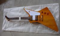 Wholesale Custom Shop 58 - best china guitar Custom Shop 50th Anniversary '58 Antique Natural Electric Guitar OEM Musical