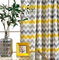 Wholesale Grommet Linen Curtains - Wave Print Thermal Lined Energy Efficient Grommet Curtain Panel, Linen