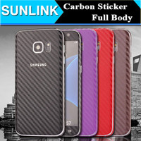 Wholesale Iphone Sticker Skin Case - Carbon Fiber 360 Degree Full Body Sticker Skin Case for iPhone 7 6 6S Plus 5 5S SE Samsung Galaxy Note 7 5 S7 Edge S6 Edge Plus