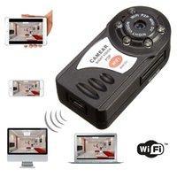 Wholesale Ip Video Recording - Wireless WiFi IP Camera P2P camera Portable camcorder Video Record Mini DV IP Portable Security camcorder Video Recorder mini DV