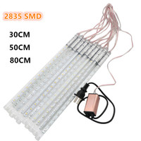 LED decorative shower lighting - 10PCS Set Waterproof Decorative Meteor Shower Rain Tube SMD LED String Light CM CM cm Patio Garden Stairways Corridors