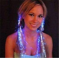 многоцветные рождественские огни для оптовых-Светодиодные волосы Кос клип Шпилька многоцветный светодиодные вспышки света день рождения неоновые партии танцевальные праздничные атрибуты для Хэллоуина партии танца Рождество