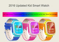 Wholesale Baby Moods - 2016 Kid GPS Smart Watch Wristwatch SOS Call Location Device Tracker for Kid Safe Anti Lost Monitor Baby Gift Q80 PK Q50 Q60 DHL fast