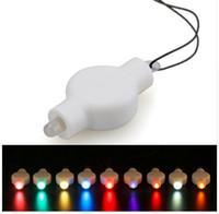 ingrosso le luci appese alla batteria-NUOVA lanterna d'attaccatura della decorazione di 10pcs / lot con la linea nave libera a pile luminosa eccellente di Floralyte LED della luce