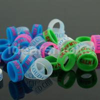 Wholesale mechanical finger ring - New Design Silicone Ring anti-slip silicon finger vape band beauty covering rubber vape ring for mechanical mod -F023