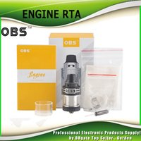 Wholesale Authentic OBS Engine RTA Tank Rebuidable Atomizer ml Capacity mm Diameter Top Side Filling Top Airflow genuine DHL Free