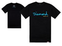 Wholesale Diamond Supply Shirts Free Shipping - Diamond Supply Co T Shirts Men diamond supply tshirt Cotton T-Shirt Short Sleeve Man Top Mens Tee Shirt Free Shipping