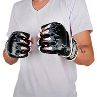 Wholesale Mma Wholesale Fight Gear - SUTEN Tiger Paw Gloves Upscale Sandbags Gloves Half Finger Glove MMA Boxing Punching Gloves SUTENG Fighting Glove 2501025