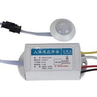 инфракрасный датчик движения оптовых-ИК инфракрасный модуль тела датчик интеллектуальный свет лампы движения зондирования переключатель B00268