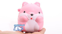 Wholesale novelty mice toys resale online - Novelty Kawaii Cm Hamster Mouse Squishy Slow Rising Pendant Soft Squeeze Phone Straps Bread Cake Scented Stretchy Toy Gift