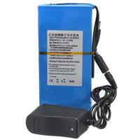 Wholesale 12v Dc Battery Pack - .Wholesale Price DC 12V 20000mAh Li-ion Super Rechargeable Battery Pack + AC Charger W  EU Plug