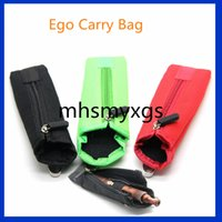 Wholesale E Cigarettes Carring Cases - 2016 Hottest Ego Carry Bag e cigarette Cloth ego bag E Cig Carring pouch eGo Box Case Pouch for X6 X9 X9S Mechanical Mods