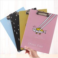 Wholesale 2016 South Korea stationery office paper A4 vertical tablet creative folder powder students writing pad folder