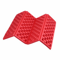 Wholesale Foam Chair Pads - Foldable Folding Outdoor Camping Mat Seat Foam XPE Cushion Portable Waterproof Chair Picnic Mat Pad 5 Colors free shipping