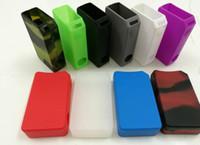 capas mod modas sigelei venda por atacado-Capa de silicone para Tesla Invader3 III 240 W Caixa Mod Inventor3 caso vape Silicone jar electornic cigarro Sigelei Fuchai 200 W IPV4s Caixa mod