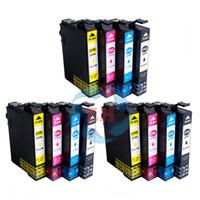 Wholesale Epson Printer Xp - 12 PCS ink cartridge T2991 T2992 T2993 T2994 Compatible For Epson XP-247 XP-445 XP-345 XP-442 XP-342 XP-245 Printer