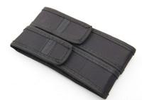 Wholesale Laser Belts - New Black Nylon Belt Holster Cover Pouch for UltraFire C8 G700 E6 E17 A100 501B 502B LED Flashlight Torch 301 303 Laser Pen