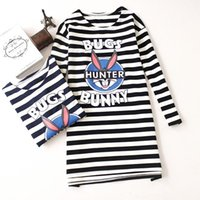 Wholesale Clothing Free Time - 2016 Spring Clothes New Pattern Leisure Time Stripe Round Neck Pullover Pure Cotton Sweater Will Code Woman T Pity