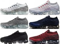 Wholesale Man Shocks - 2017 New Rainbow VaporMax 2018 BE TRUE Men Woman Shock Running Shoes For Real Quality Fashion Men Casual Vapor Maxes Sports Sneakers